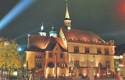 Strahlendes Altes Rathaus von Sebastian Schlote